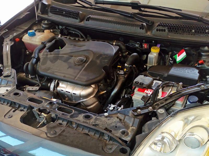 Silnik Fiat Bravo na gaz