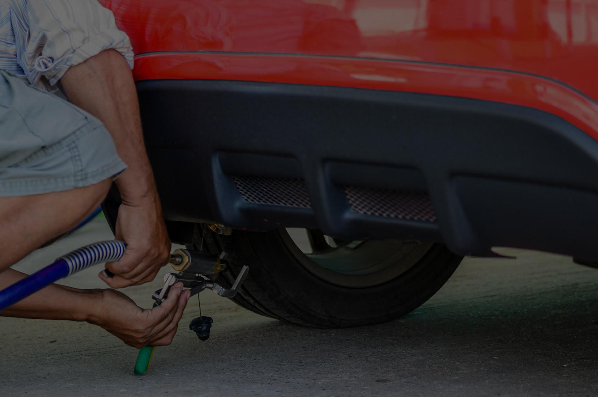 Tankowanie gazu do samochodu